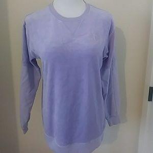 VS Pink Logo  Velour/Sweatshirt Sleeves